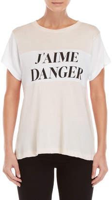 Wildfox Couture Jaime Danger Tee