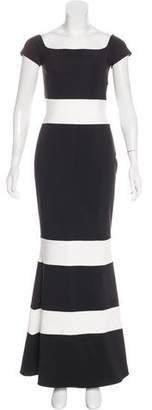 Chiara Boni Striped Maxi Dress