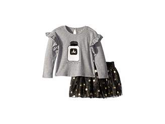 Kate Spade Kids Chic Skirt Set (Infant)
