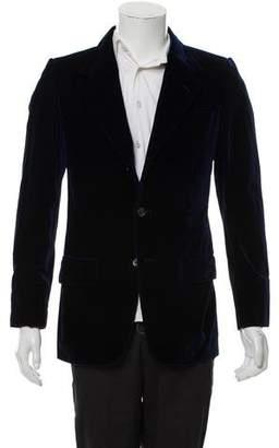 Saint Laurent Woven Two-Button Blazer
