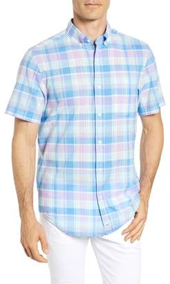 Vineyard Vines Lagoon Pond Classic Fit Plaid Sport Shirt