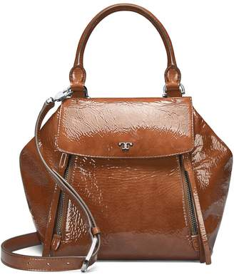Tory Burch HALF-MOON PATENT SATCHEL