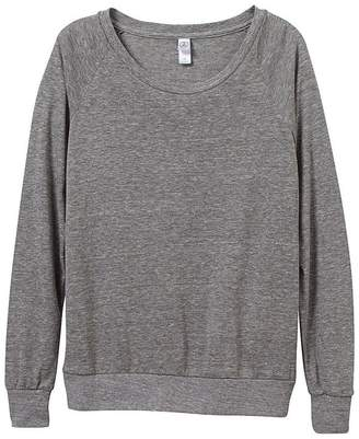 Alternative Apparel Womens/Ladies Eco-Jersey Slouchy Pullover (M)