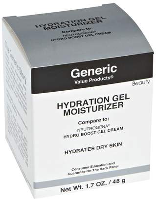 Neutrogena Generic Value Products Advanced Hydration Gel Moisturizer Compare to Hydro Boost Gel Cream