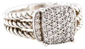 David Yurman Diamond Petite Wheaton Ring