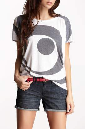 Couture Go Boatneck Printed Tee
