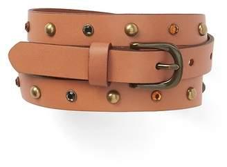 Gap Skinny Belt with Stone and Stud Embellishment