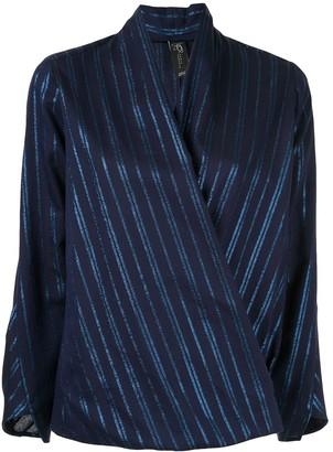 Zero Maria Cornejo wrap front blouse