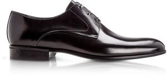 Moreschi Liverpool Black Calfskin Derby Shoes