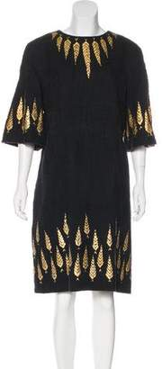 Chanel Paris-Bombay Hand Painted Dress w/ Tags
