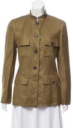 Celine Metallic Structured Jacket