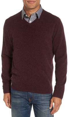 Nordstrom Cashmere V-Neck Sweater