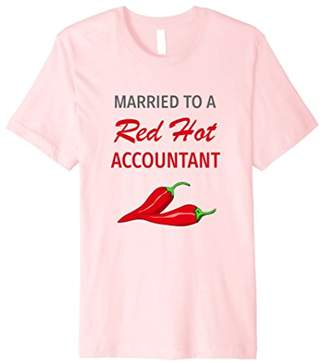 Funny Accountant Spouse T Shirt Gift Hot