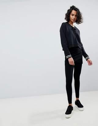 AllSaints Heavy Knit Wrap Legging