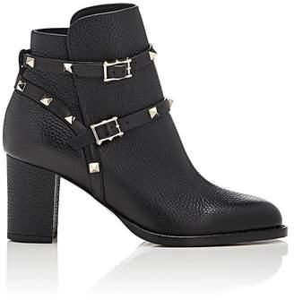 Valentino Women's Rockstud Double-Strap Boots