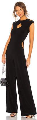 Norma Kamali Sleeveless Cut Out Jumpsuit