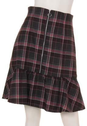 Rirandture (リランドチュール) - リランドチュール チェック切替えAラインスカート(ピンク)