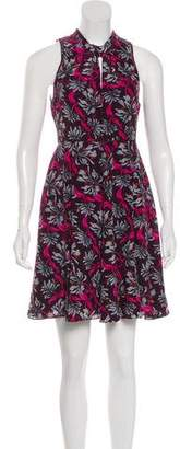 Rebecca Taylor Floral Mini Dress