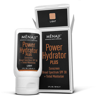 Menaji Power Hydrator PLUS Broad Spectrum Sunscreen SPF30 + Tinted Moisturiser - Light 30ml