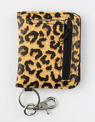 Leopard Wallet Keychain