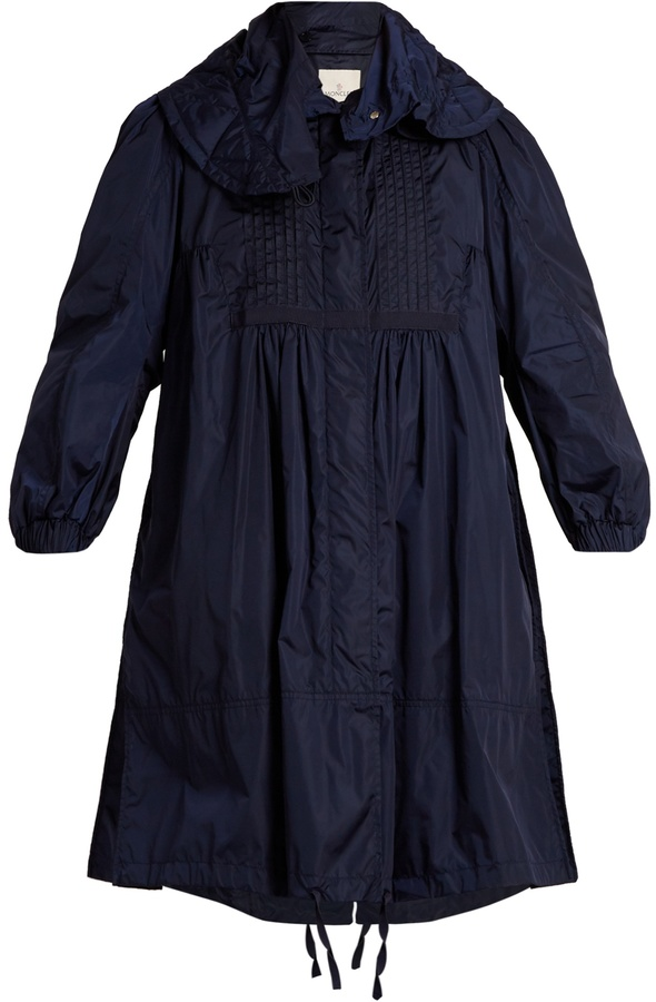 Moncler MONCLER Cabannes pleated coat