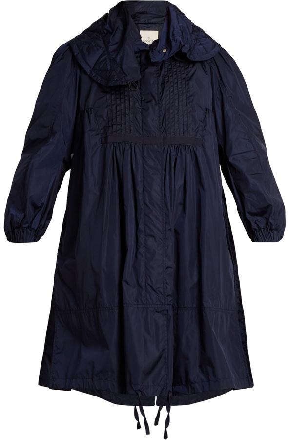 MonclerMONCLER Cabannes pleated coat