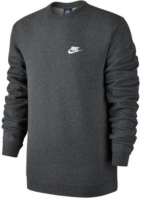 Nike Men's Crewneck Fleece Sweatshirt $40 thestylecure.com