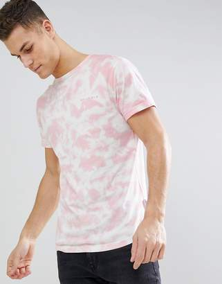 Bellfield T-Shirt With Cloud Print