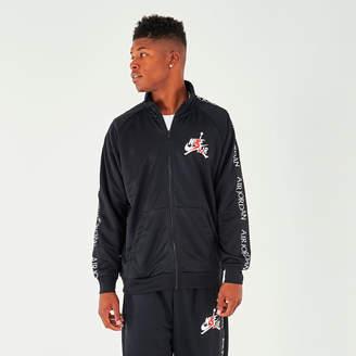 Nike Men's Jordan Mashup Jumpman Classics Tricot Warm-Up Jacket