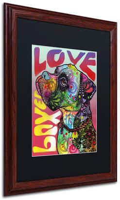 Trademark Global Dean Russo 'Boxer Luv' Matted Framed Art