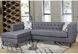 Rosdorf Park Gosford Tufted and Naihead Sectional