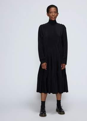 Cédric Charlier Long Sleeve Turtleneck Dress