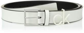 "Calvin Klein Women's 1.1"" INCH Belt with Logo Loop"
