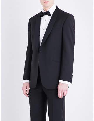 Richard James Satin-lapel regular-fit wool and mohair-blend tuxedo jacket