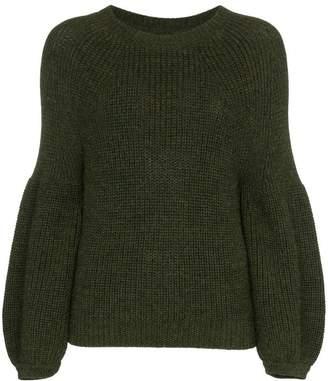 Mara Hoffman eliza alpaca knitted jumper