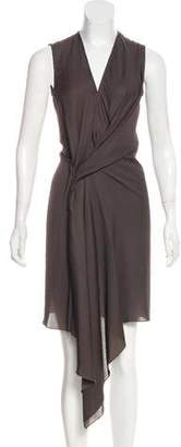 See by Chloe Sleeveless Pleated Maxi Dress