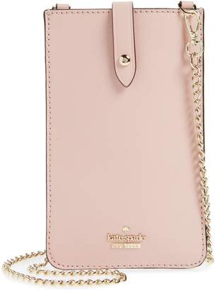 Kate Spade leather iPhone crossbody bag