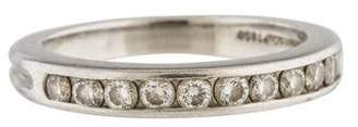 Tiffany & Co. Platinum Diamond Tapered Wedding Band