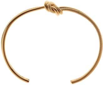 Reiss CALLIE BRACELET KNOT DETAIL BANGLE Gold