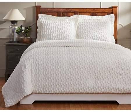 Better Trends Isabella Comforter King Ivory