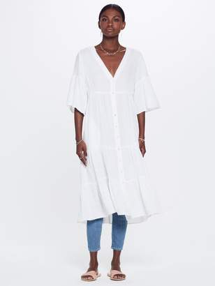 Mother XiRENA Kendall Chelsea Gauze Dress White