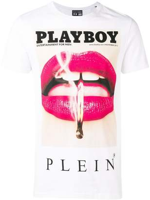 Philipp Plein X Playboy printed T-shirt