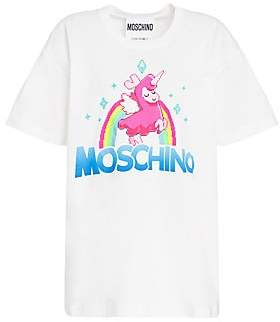 9bc8d979015a Moschino Women's x Sims Pixel Capsule Lamacorn Tee