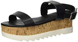 Madden-Girl Women's SUGARR Wedge Sandal