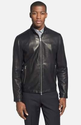 Theory 'Morvek L.Kelleher' Sheepskin Leather Jacket
