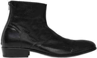 Shoto Leather Belted Boots