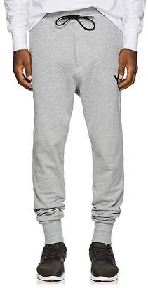 Y-3 Men's Logo Cotton French Terry Jogger Pants