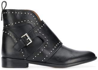 Emporio Armani studded ankle boots