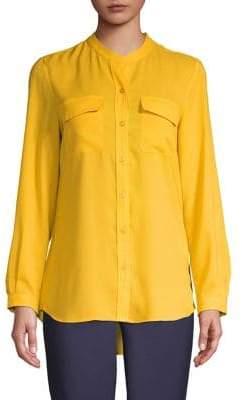 Isaac Mizrahi IMNYC Button-Down Shirt