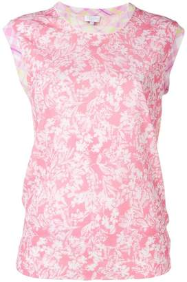 Escada Sport round neck printed top